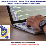 Full Course – Oracle Application Testing Suite (OATS) OpenScript –  From Basics to Advance Level