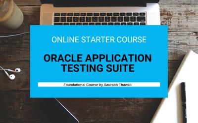 Starter Course – Oracle Application Testing Suite (OATS) OpenScript